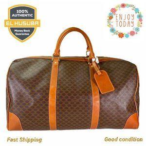 🌻💯Celine Travel Bag Brown Macadam PVC